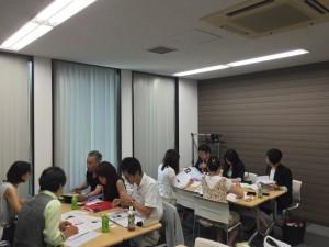 8月21日名古屋プロフィール交換会